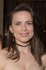 HAYLEY ATWELL at Rosmersholm Press Night Party in London 05/02/2019