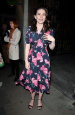 HAYLEY ATWELL at Rosmersholm Theatre Cast Departures in London 05/13/2019