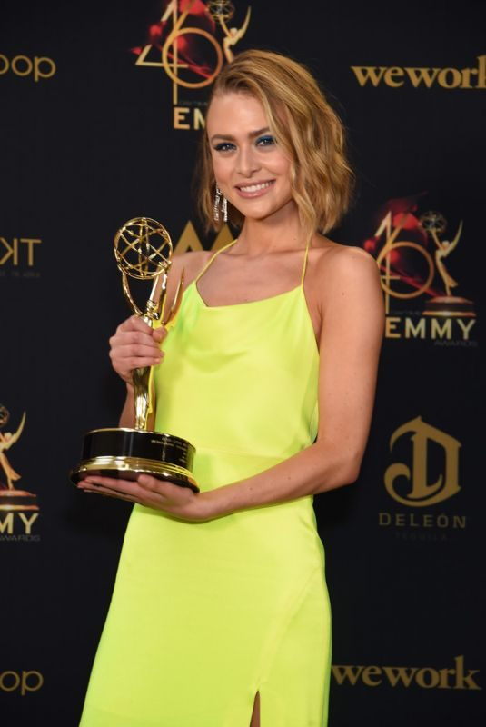 HAYLEY ERIN at Daytime Emmy Awards 2019 in Pasadena 05/05/2019