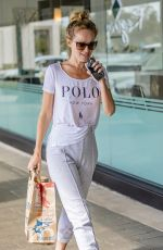 HAYLEY ROBERTS Out Shopping in Los Angeles 05/20/2019
