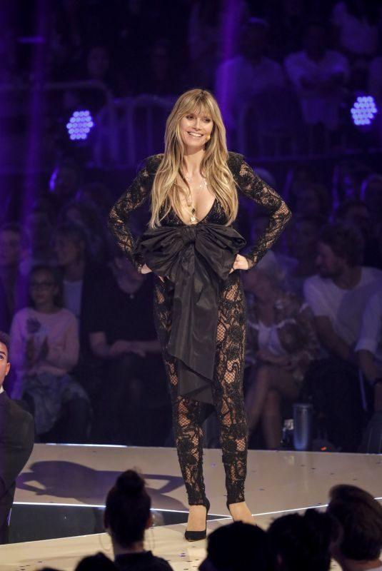 HEIDI KLUM at Germany's Next Top Model Final 05/23/2019