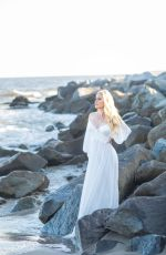 HEIDI MONTAG on the Set of a Photoshoot at a Beach in Malibu 05/08/2019