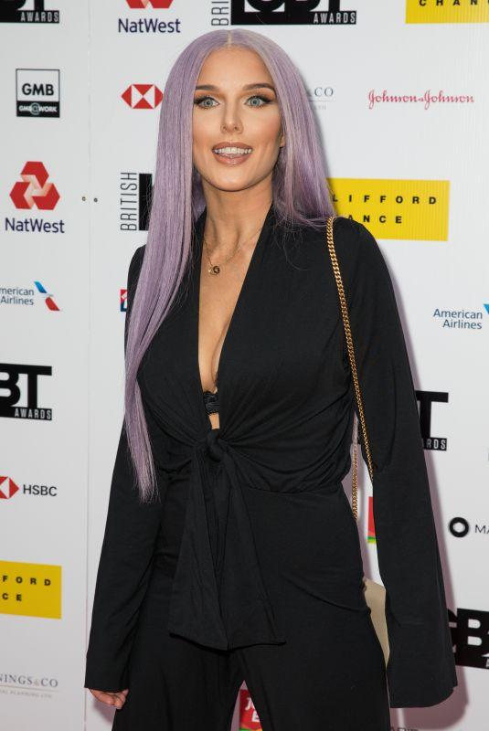 HELEN FLANAGAN at British LGBT Awards 2019 in London 05/17/2019