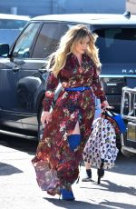 HILARY DUFF Out and Aboutn in Studio City 05/29/2019