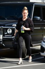 HILARY DUFF Out in Los Angeles 05/29/2019