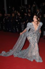 HINA KHAN at Bacurau Screening at 2019 Cannes Film Festival 05/15/2019