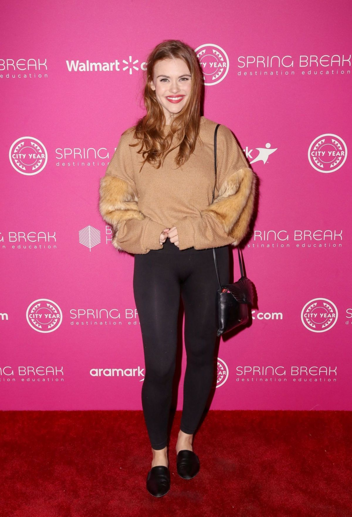 HOLLAND RODEN at City Year Los Angeles' Spring Break ...