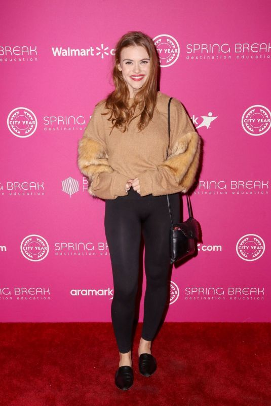 HOLLAND RODEN at City Year Los Angeles