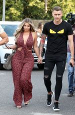 HOLLY HAGAN at Judges Restaurant at a Gender Reveal Party in London 05/22/2019