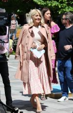 HOLLY WILLOGHBY at ITV Studios in London 05/14/2019