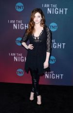 INDIA EISLEY at I Am the Night FYC Event in Hollywood 05/09/2019