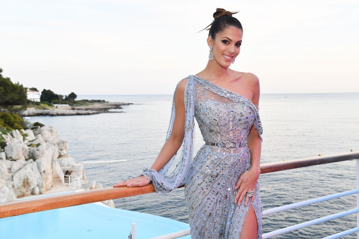 IRIS MITTENAERE At Grisogono Gala Dinner At Cannes Film