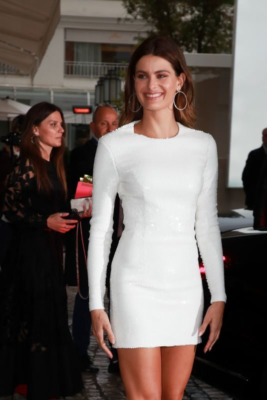 ISABELI FONTANA at Martinez Hotel in Cannes 05/17/2019