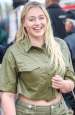 ISKRA LAWRENCE Out on Croisette in Cannes 05/18/2019