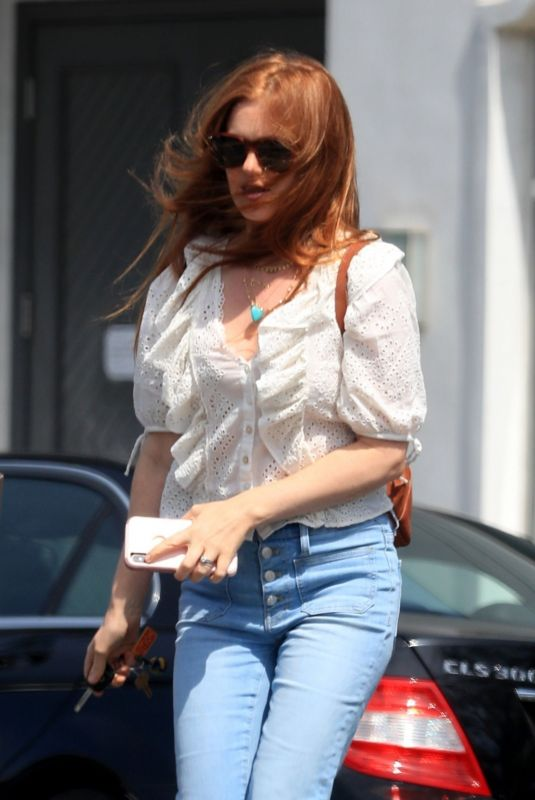ISLA FISHER Out and About in Beverly Hills 05/02/2019