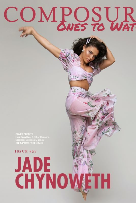 JADE CHYNOWETH in Composure Magazine, Summer 2019