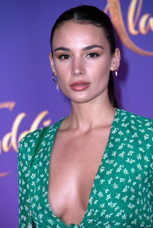 JADE LEBOEUF at Aladdin Premiere in Paris 05/08/2019