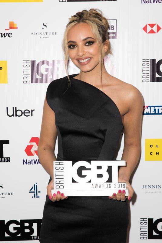JADE THIRLWALL at British LGBT Awards 2019 in London 05/17/2019