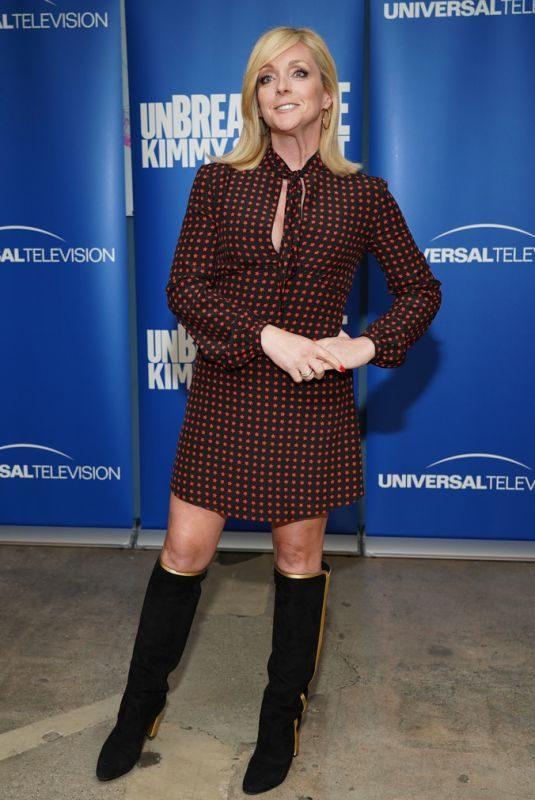 JANE KRAKOWSKI at Unbreakable Kimmy Schmidt FYC Panel in Los Angeles 05/29/2019