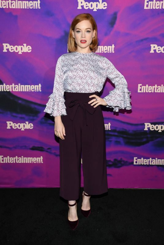 JANE LEVY at Entertainment Weekly & People New York Upfronts Party 05/13/2019