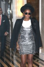JANELLE MONAE Leaves Mark Hotel in New York 05/04/2019