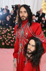 JARED LETO at 2019 Met Gala in New York 05/06/2019