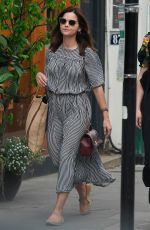 JENNA LOUISE COLEMAN Out and About in London 05/27/2019