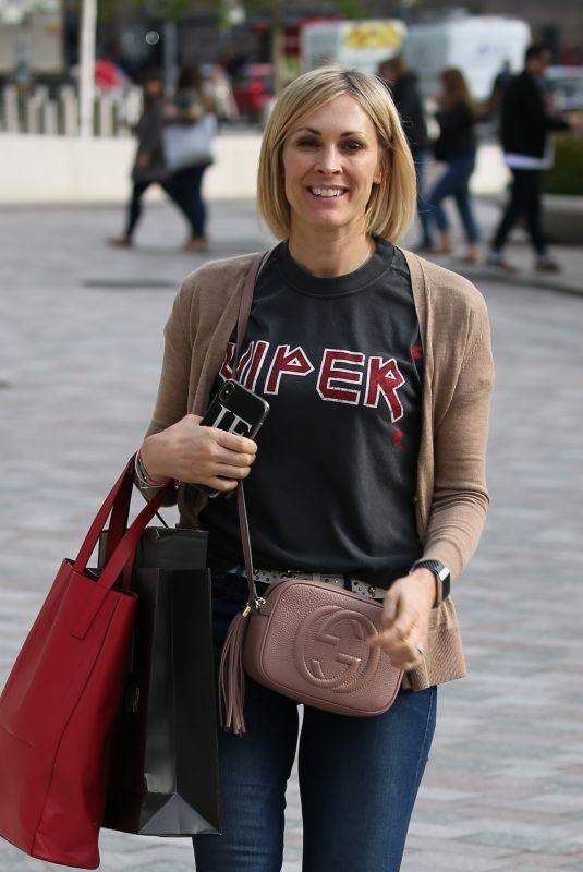 JENNI FALCONER at ITV Studios in London 05/02/2019
