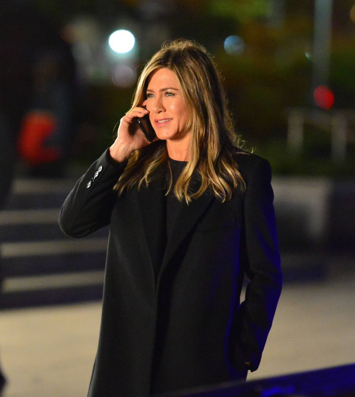 JENNIFER ANISTON on the Set of Her Upcoming Movie in New ...
