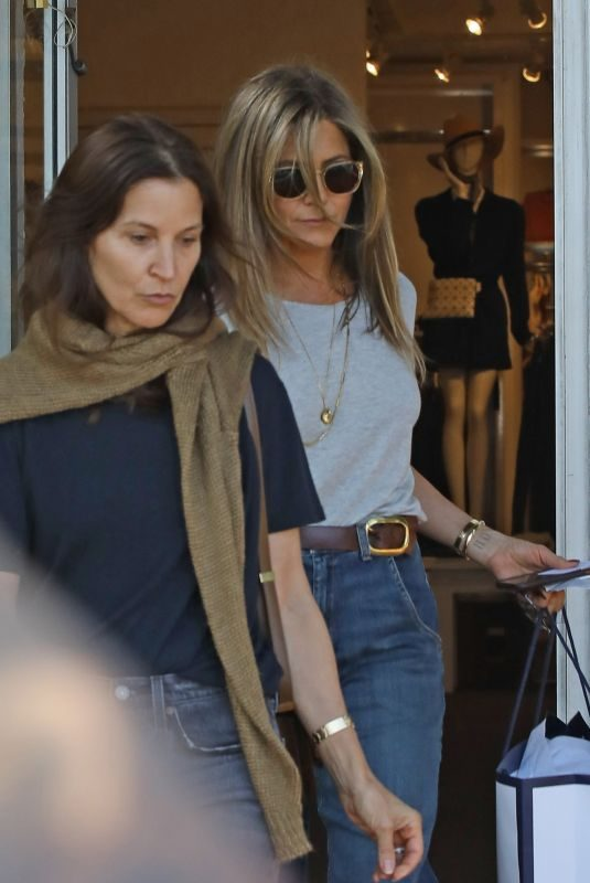 JENNIFER ANISTON Out Shopping in West Hollywood 05/30/2019