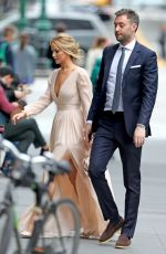 JENNIFER LAWRENCE and Cooke Maroney Out in New York 05/12/2019