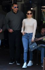 JENNIFER LOPEZ and Alex Rodriguez Out for Lunch in Miami 05/29/2019