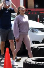 JENNIFER LOPEZ Arrives at as Gym in Miami 05/29/2019