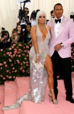 JENNIFER LOPEZ at 2019 Met Gala in New York 05/06/2019