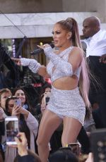 JENNIFER LOPEZ Performs Today Show in New York 05/06/2019