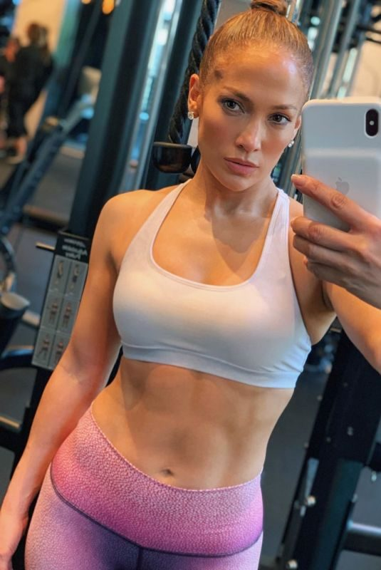 JENNIFER LOPEZ Working Out at a Gym – Instagram Pictures and Video, May 2019
