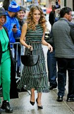 JESSICA ALBA Arrives at Good Morning America in New York 05/13/2019