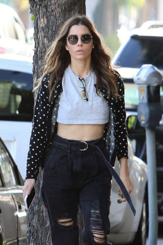 JESSICA BIEL Out and About in Los Angeles 05/29/2019
