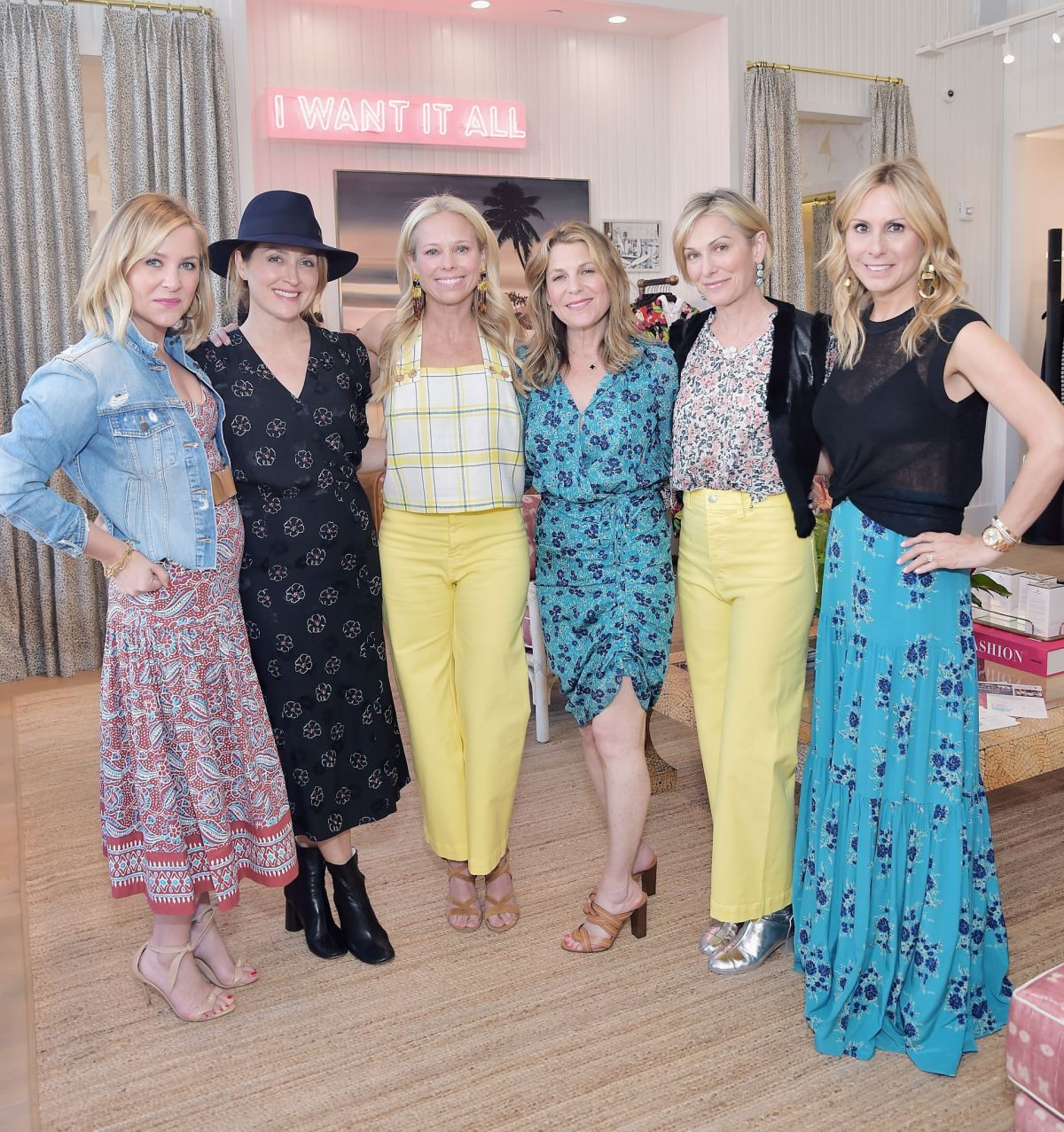 JESSICA CAPSHAW at Veronica Beard Pacific Palisades Store