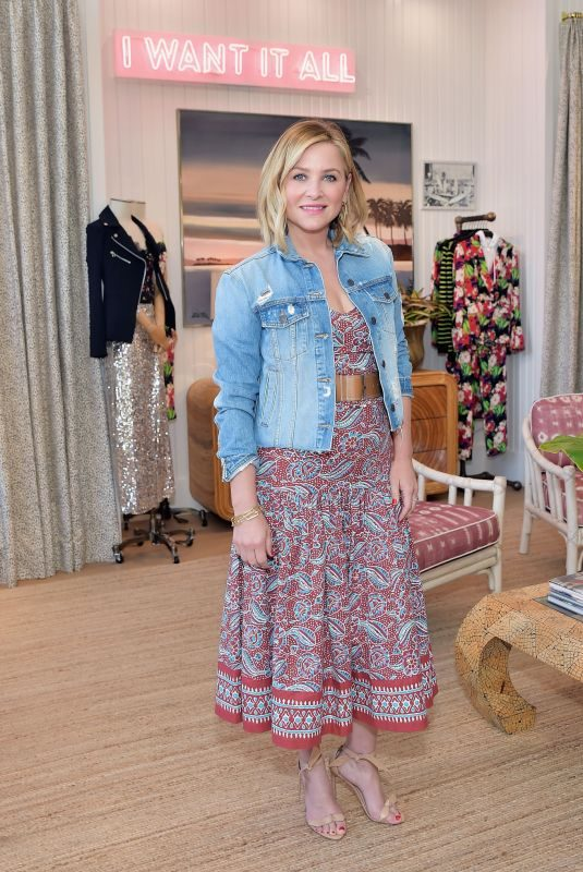 JESSICA CAPSHAW at Veronica Beard Pacific Palisades Store Opening Party 04/30/2019