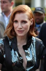 JESSICA CHASTAIN Leaves Her Hotel in London 05/23/2019
