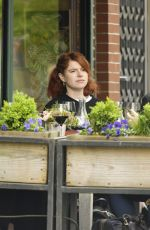 JESSIE BUCKLEY Out for Lunch at Il Buco Restaurant in New York 04/29/2019