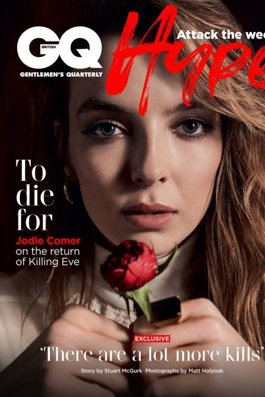 JODIE COMER for GQ Magazine, UK June 2019
