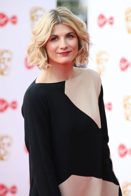 JODIE WHITTAKER at Virgin Media British Academy Television Awards 2019 in London 05/12/2019