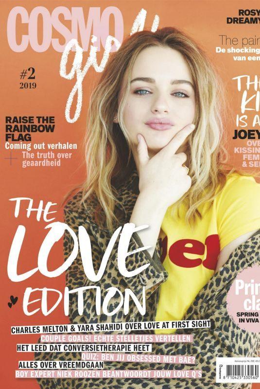 JOEY KING in Cosmogirl! Magazine, April 2019