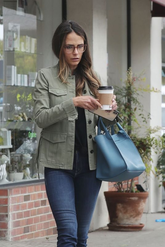 JORDANA BREWSTER Out for Coffee in Brentwood 05/23/2019