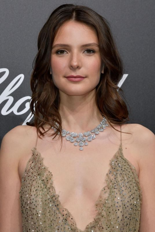 JOSEPHINE JAPY at Official Trophee Chopard Dinner at Cannes Film Festival 05/20/2019