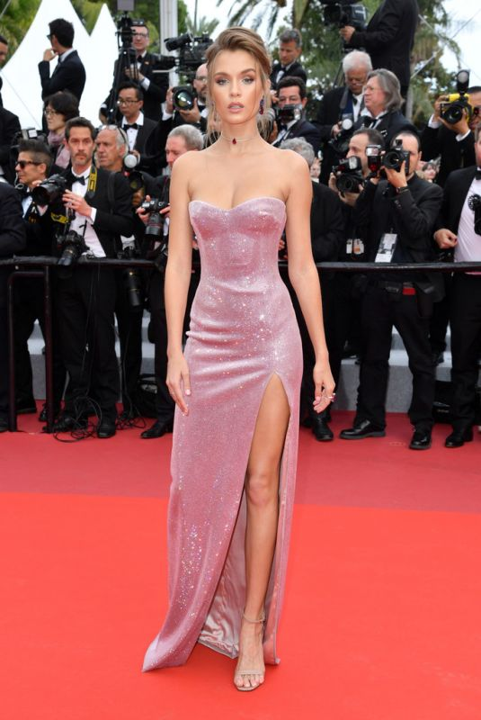 JOSEPHINE SKRIVER at Once Upon a Time in Hollywood Screening at Cannes Film Festival 05/21/2019