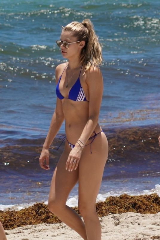 JOSIE CANSECO in Bikini at a Beach in Miami 05/11/2019