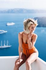 JULIANNE HOUGH in Swimsuit on Vacation in Greese, Instagram Pictures, May 2019